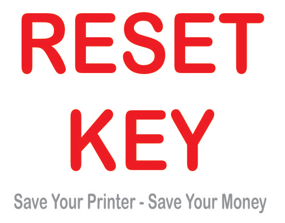 RESET KEY for the WIC Reset Uility