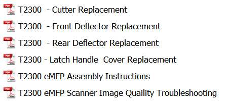 HP Designjet T2300 eMFP Series Printers scanner, cutter Service Manual, Assembly instructions