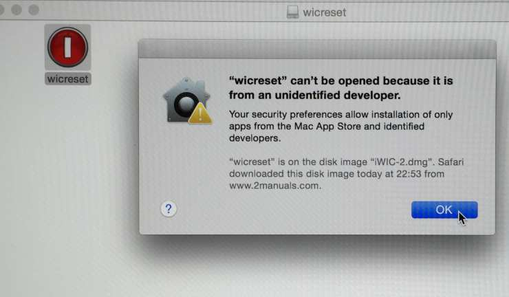 Mac OS X (10 8) – How to Install WIC Program from