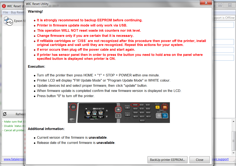 Epson Printer Chipless - No Chips Firmware - Epson - Printer Reset Forum